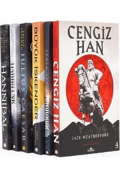 Dünya Tarihine Yön Verenler Seti (6 Kitap) - Jack Weatherford
