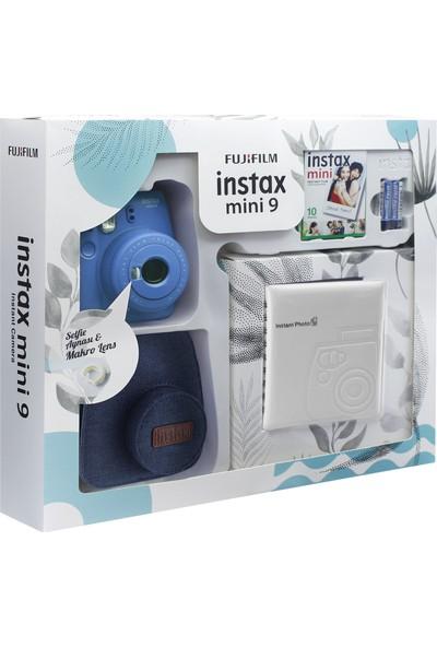 Fujifilm Instax Mini 9 Kit Mavi Jean Çantalı