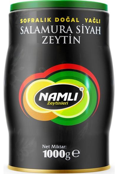 Namlı Zeytinleri Gemlik Özel Üretim Siyah Zeytin - 1 kg