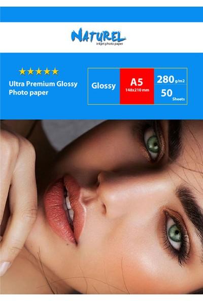 Naturel Ultra Premium Fotoğraf Kağıdı 15 x 21 cm 50'li 5 Paket