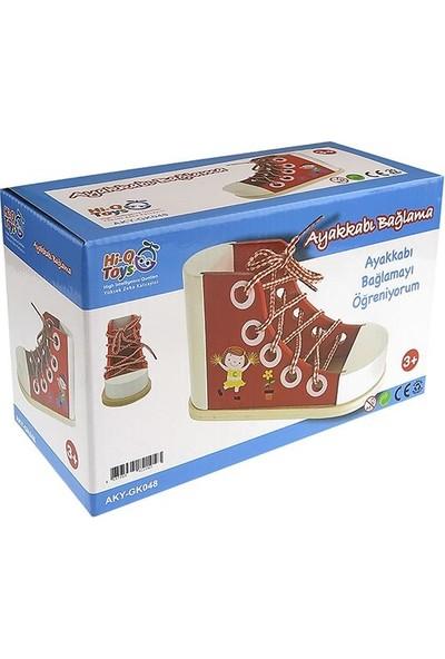 Hi-Q Toys Büyük Ayakkabı Bağlama Oyunu