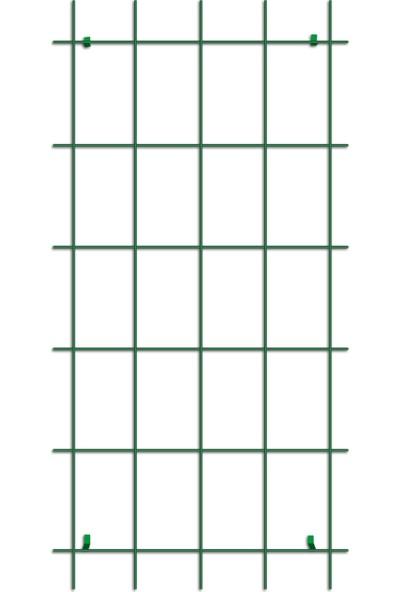 Gardener 74075 Sarmaşık Bitkilere Özel Metal Tırmanma Kafesi Yeşil 150 x 75 cm