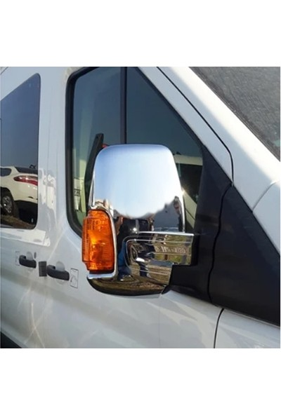 Başkent Oto Volkswagen Crafter Krom Ayna Kapağı 2 Parça 2006 Üzeri Paslanmaz Çelik