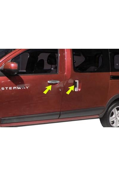 Başkent Oto Dacia Dokker Krom Kapı Kolu 4 Kapı 2013 Üzeri Paslanmaz Çelik