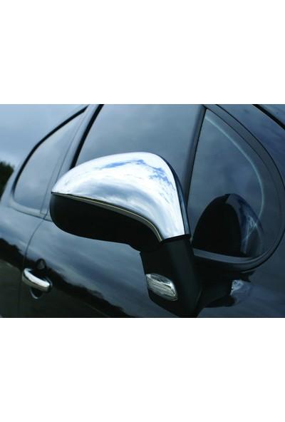 Başkent Oto Peugeot 207 Krom Ayna Kapağı 2 Parça 2006 Üzeri Paslanmaz Çelik
