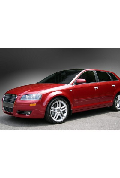 Başkent Oto Audi A4 Krom Kapı Kolu 4 Kapı 2003-2007 Paslanmaz Çelik