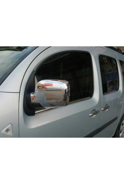 Başkent Oto Renault Kango Krom Ayna Kapağı 2 Parça 2008 Üzeri