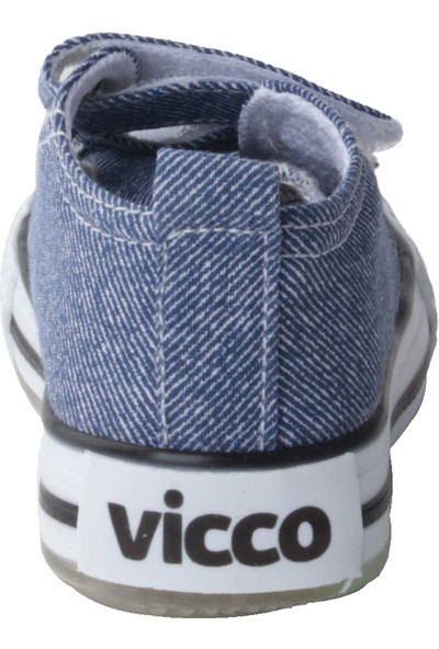 Vicco 925.20Y.150 Günlük Işıklı Kız/Erkek Çocuk Keten Ayakkabı