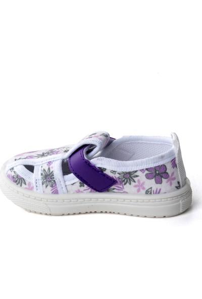 Sanbe 401 R 009 Anatomik Kız Çocuk Keten Ayakkabı