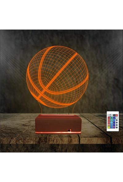 Algelsin Gece Lambası Basketbol Severlere Masa Lambası