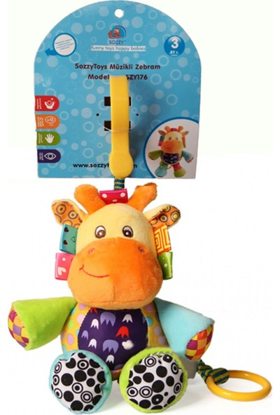 Sozzy Toys Müzikli Zebram SZY176