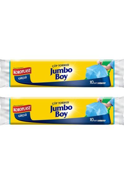 Koroplast Jumbo Boy Çöp Torbası 10 Adet - 2'li