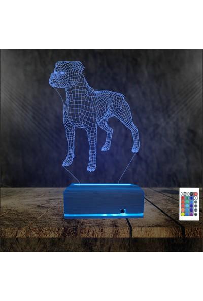 Algelsin Gece Lambası Köpek Tasarımlı Gece Lambası