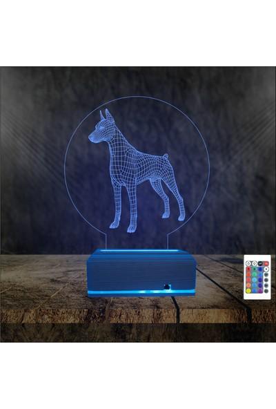 Algelsin Gece Lambası Köpek Tasarımlı Masa Lambası