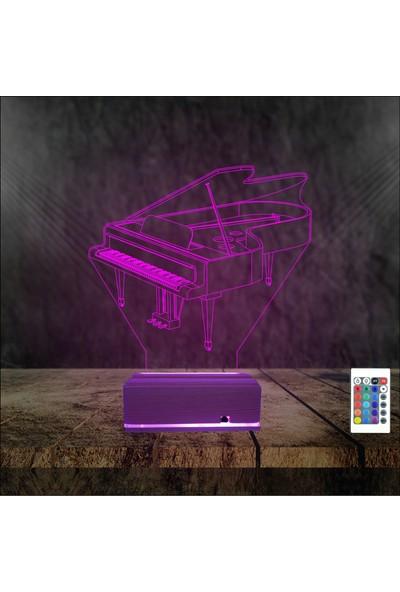 Algelsin Gece Lambası Piyano Severlere LED Masa Lambası
