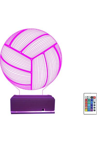 Algelsin Gece Lambası Voleybol Topu Masa Lambası