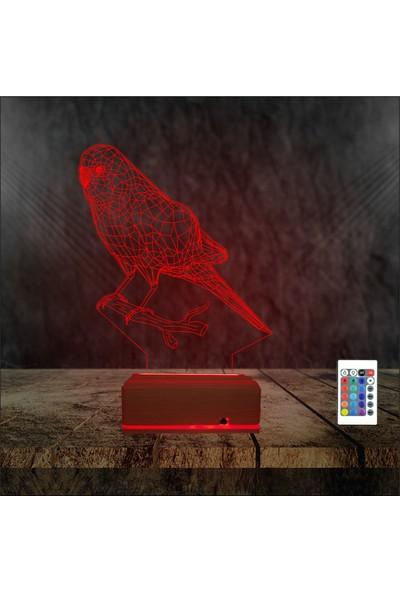 Algelsin LED Muhabbet Kuşu Gece Lambası