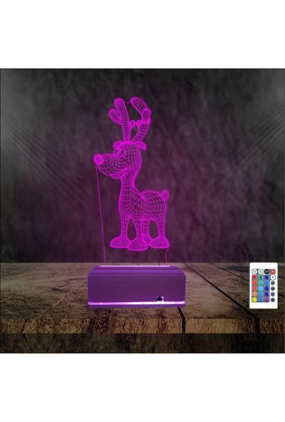 Algelsin LED Sevimli Köpek Tasarımlı Çocuk Gece Lambası