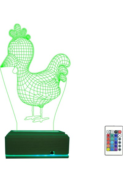 Algelsin LED Tavuk Model Gece Lambası