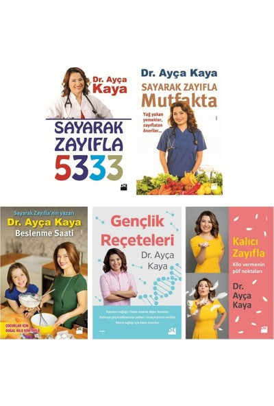 Dr. Ayça Kaya Seti 5 Kitap - Ayça Kaya
