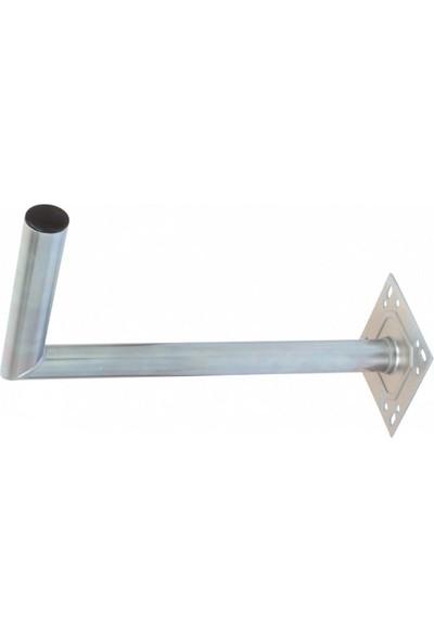 Sab 55CM L Çanak Anten Ayağı Galvaniz Paslanmaz