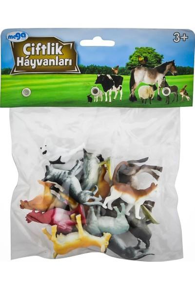 Mega Oyuncak Poşetli Hayvan Çiftlik Hayvanlar