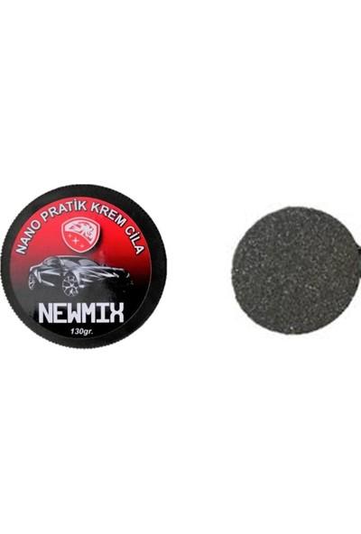 Newmix Nano Pratik Krem Cila 130 gr + Uygulama Cila Pedi