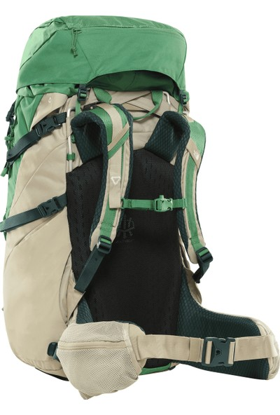 The North Face Terra Outdoor Sırt Çantası 65 lt Yeşil - Krem