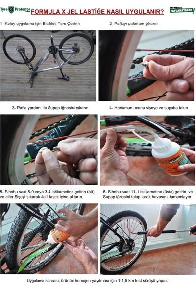 Formula X Tyre Protector Formulax Hd Bisiklet Lastik Koruyucu Sıvı Zırh Jel