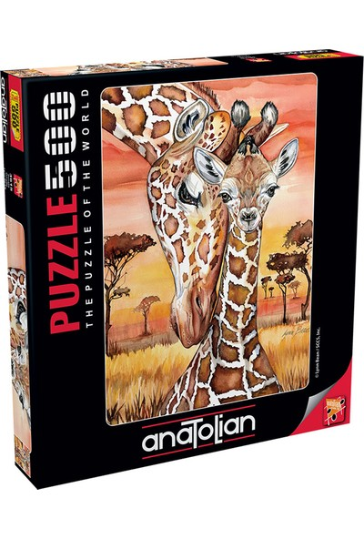 Ravensburger Anatolian Puzzle 500 Parça Zürafa