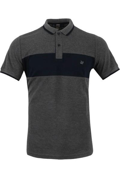 Fenerium Erkek Clup Göğüs Bantli Polo Yaka T-Shirt