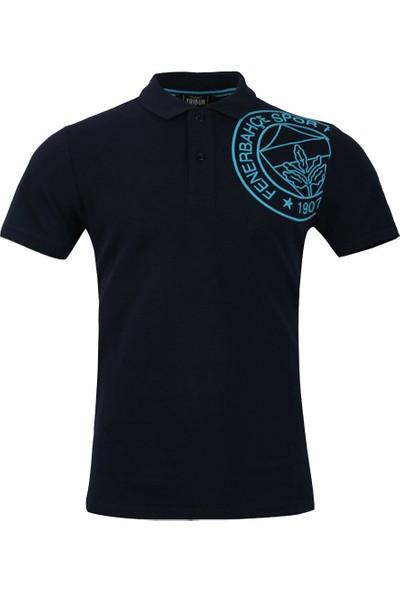 Fenerium Erkek Tribün Omuz Logo Polo Yaka T-Shirt