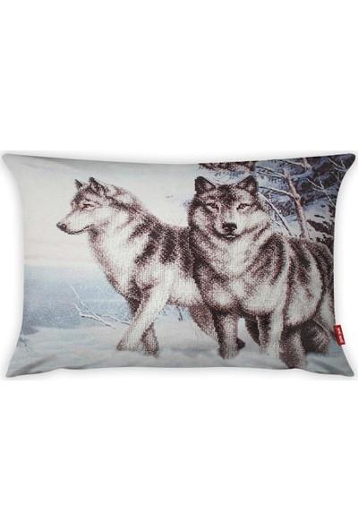 Yeni Nesil Tekstil Dekoratif 35 x 50 cm Kırlent Kılıfı A50530-K