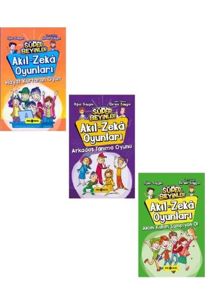 Akıl Ve Zeka Oyunları Seti 3 Kitap Oğuz Saygın-Ekrem Saygın - Oğuz Saygın - Ekrem Saygın