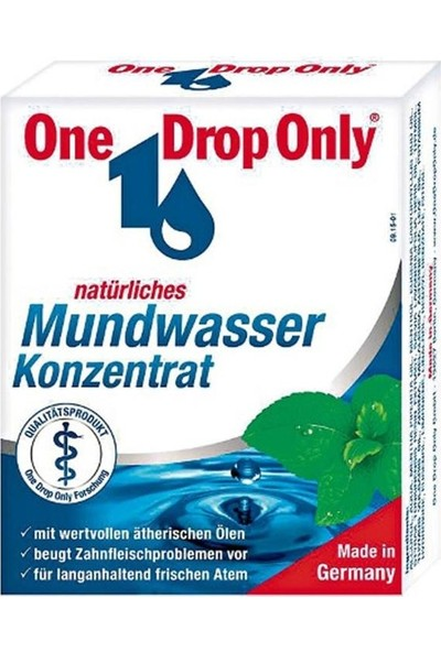 One Drop Only Ağız Gargarası - Konsantre 25 ml