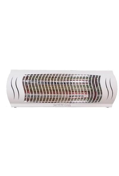 Normgas Mtn-Es 2000W Infrared Cafe Tipi Elektrikli Isıtıcı