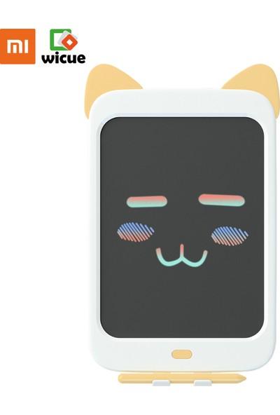 """Xiaomi Wicue 10"""" Sarı Kedi LCD Dijital Renkli Çizim Tableti"""