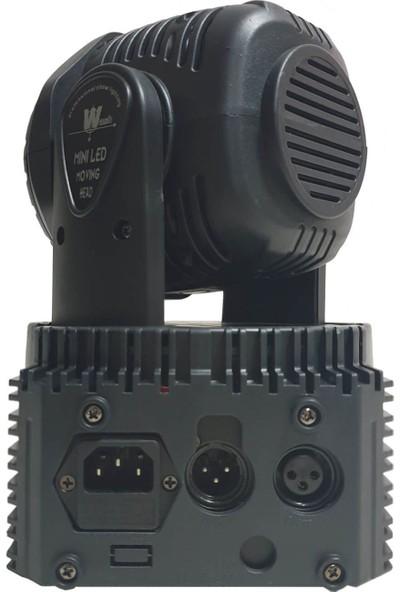 Quenlite Wash-107 Dönerli Moving Head Robot Sahne Işık