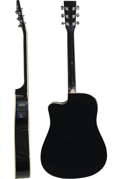 Midex Lea LC-41 Ekolayzerli Elektro Akustik Gitar (Kılıf Kablo Capo Hediye)