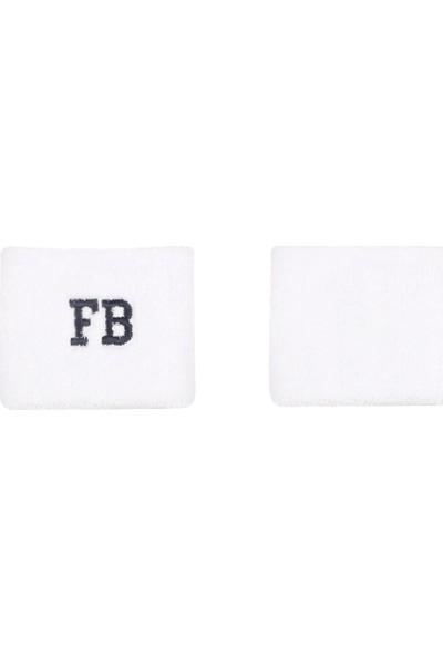 Fenerium Beyaz FB Havlu Bileklik
