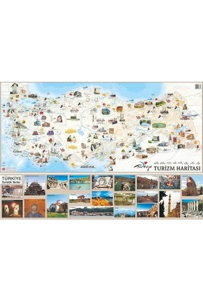 Mepmedya Yayınları Türkiye Turizm Haritası