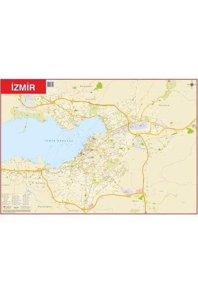 Mepmedya Yayınları Izmir - Türkiye Çift Taraflı Fiziki Harita 70 x 100 cm