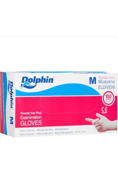 Dolphin Pudrasız Hijyenik Eldiven M