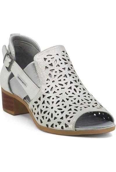 Mammamia D20YA-3345 Deri Sandalet