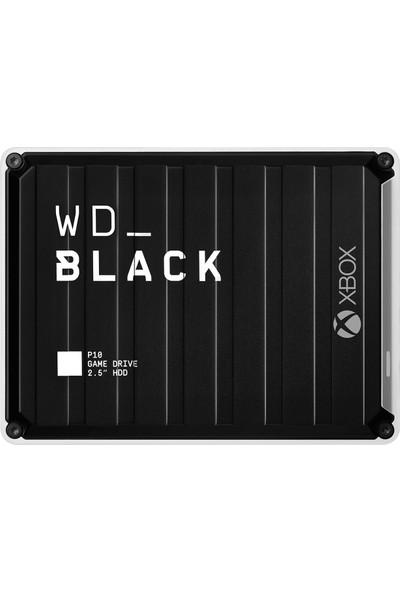 """WD BLACK P10 5TB 2.5"""" 140MB/s USB 3.2 Taşınabilir Disk WDBA5G0050BBK-WESN"""