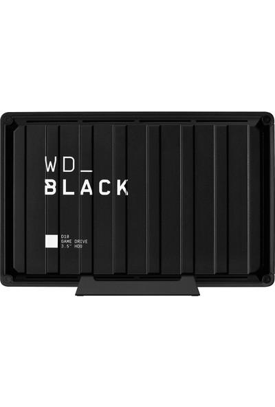 "WD BLACK D10 8TB 3.5"" 250MB/s USB 3.2 Taşınabilir Disk WDBA3P0080HBK-EESN"