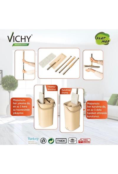 Vichy Mikrofiber Tablet Mop Temizlik Seti