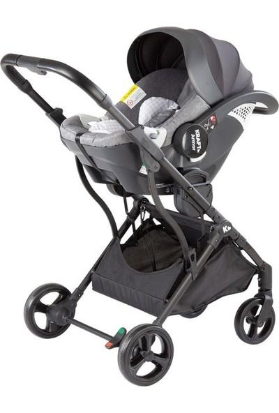 Kraft Lima Travel Sistem Bebek Arabası Açık Gri