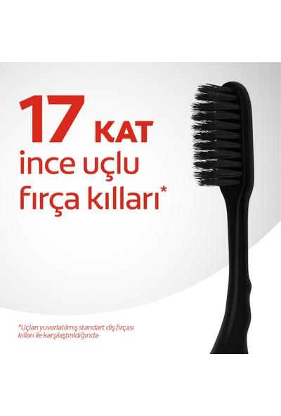 Colgate Mikro İnce Siyah Diş Fırçası Yumuşak 1+1