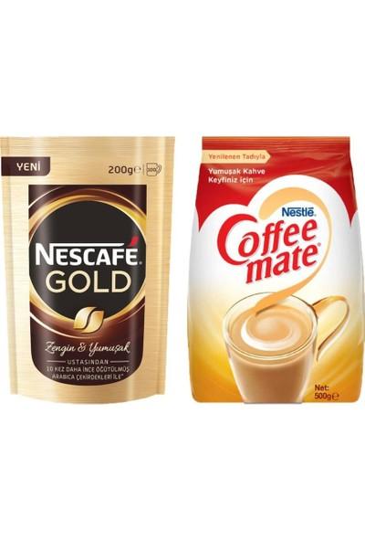 Nescafe Gold 200 gr + Nestle Coffee Mate 500 gr Fırsat Paketi